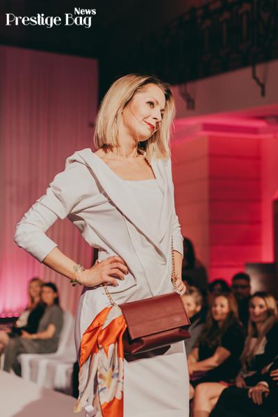 Katarzyna Olubińska pokaz mody Ciepielewska Design
