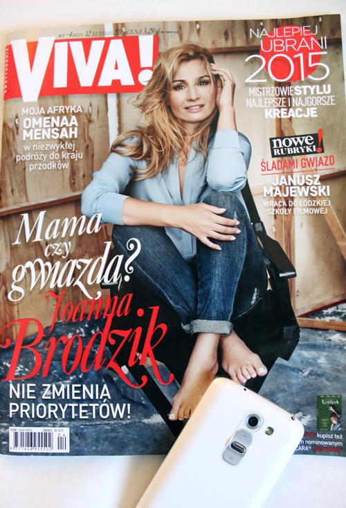 Magazyn Viva. Joanna Brodzik.