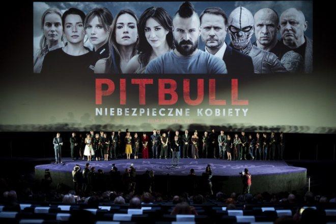 uroczysta premiera Pitbull Niebezpieczne kobiety