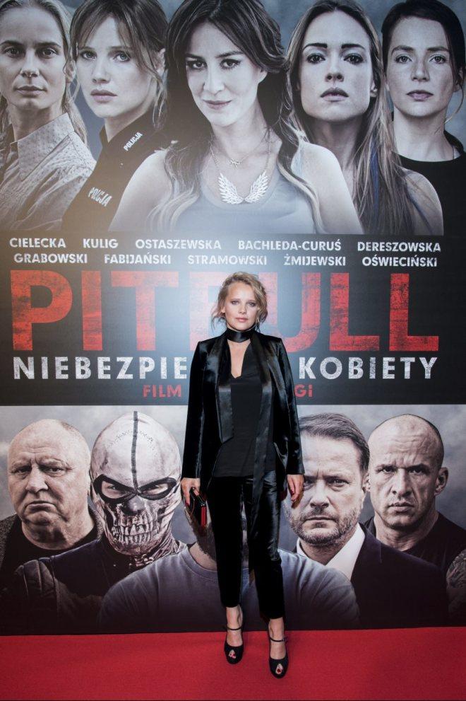 Joanna Kulig premiera Pitbull Niebezpieczne Kobiety