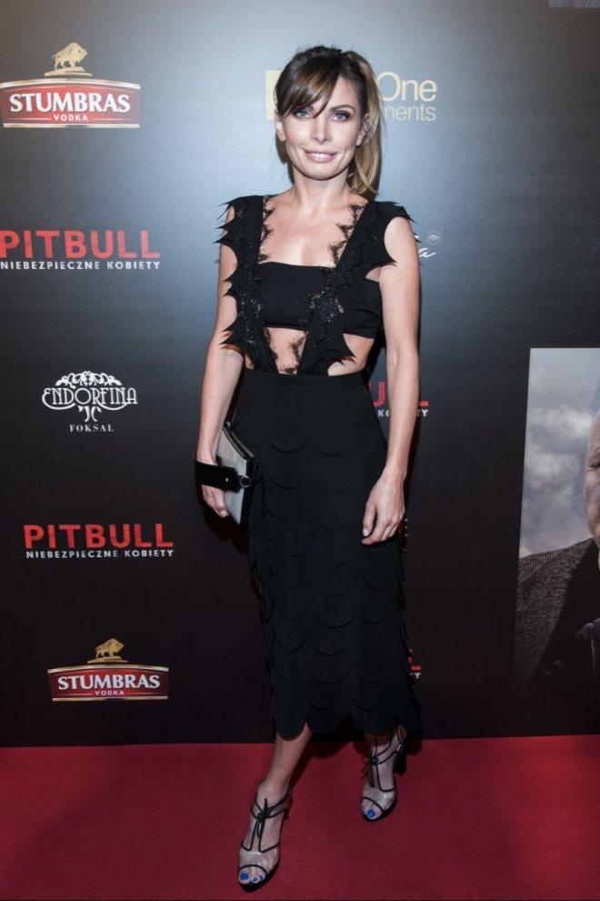Agnieszka Dygant premiera Pitbull