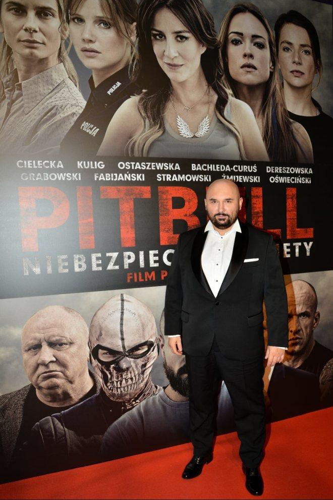 Patryk Vega uroczysta premiera Pitbull Niebezpieczne Kobiety
