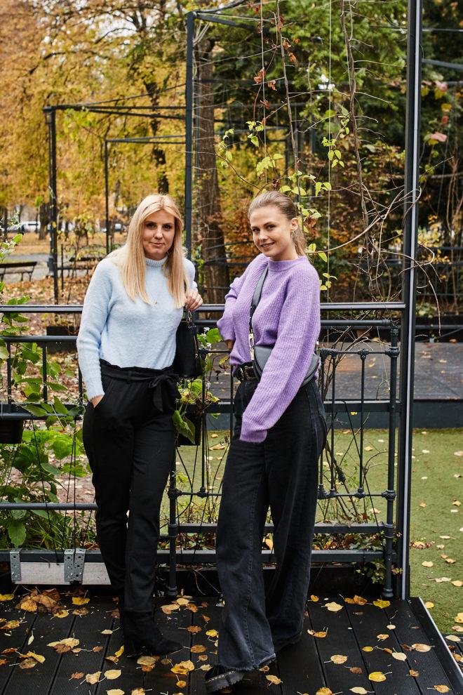 Iwona Gielecińska i Anna Karczmarczyk